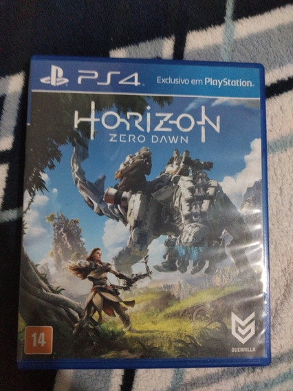 Horizon Zero Dawn Ps4 Mídia Física