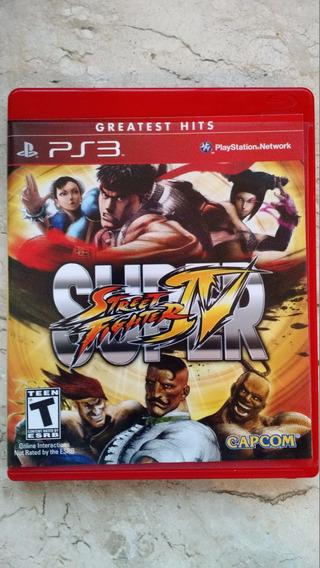 Super Street Fighter 4 Iv - Mídia Física - Ps3