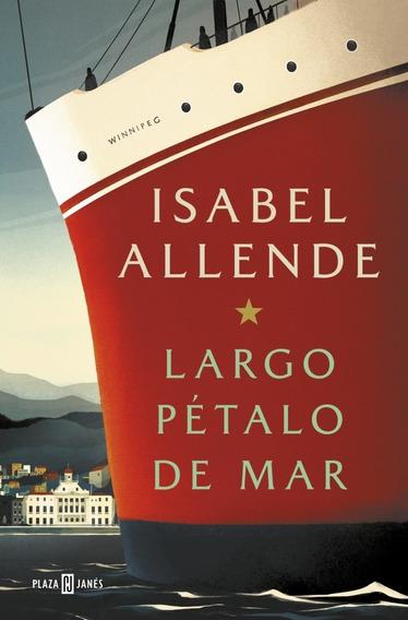 Largo Pétalo De Mar - Libro Isabel Allende