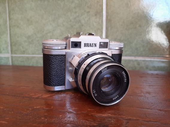 Câmera Antiga Braun