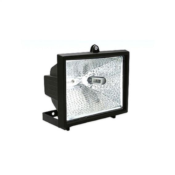 Refletor Lampada Halogena 1000w Brasfort Ref. 8428 Preto