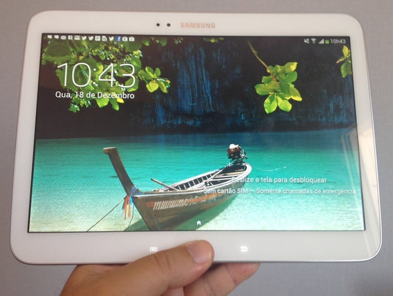 Tablet Tab 3 Tela De 10 Samsung