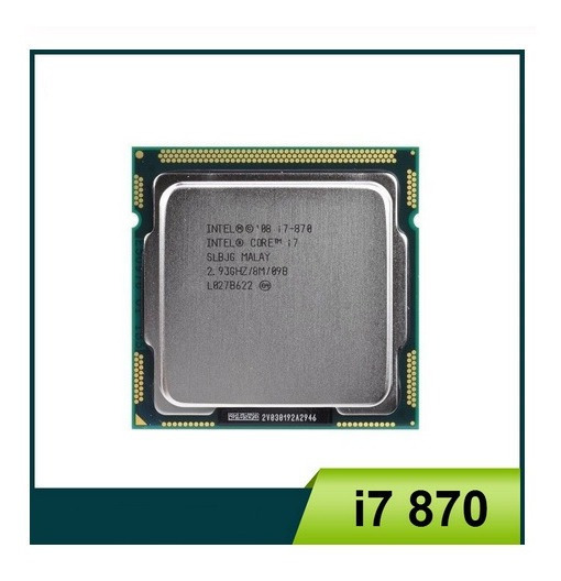 Kit Cpu I7-870 + Asus P5h55 + 16gb Ram Kingston