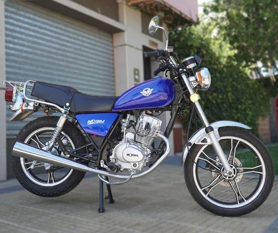 Mondial Hd 150 Custom Chopera Azul 0km - Puerto Motos