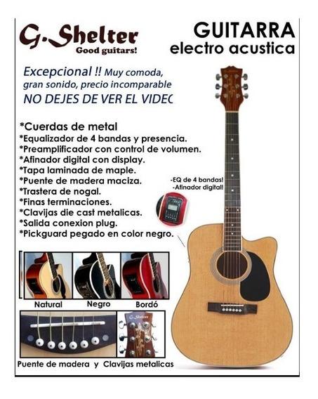 Guitarra Electroacustica G-shelter! Oferta!