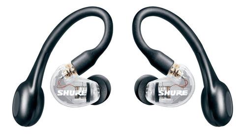 Imagem 1 de 4 de Fone In Ear Sem Fio Aonic 215 Cristal Shure Se215-cl-tw1