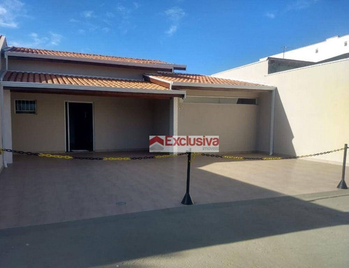 Imagem 1 de 21 de Casa Com 1 Dormitório, 110 M² - Venda Por R$ 620.000,00 Ou Aluguel Por R$ 2.800,00/ano - Residencial São José - Paulínia/sp - Ca1937