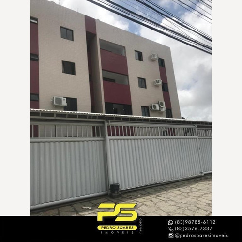 Apartamento Com 3 Dormitórios Para Alugar, 60 M² Por R$ 1.100/mês - Jardim Cidade Universitária - João Pessoa/pb - Ap4360