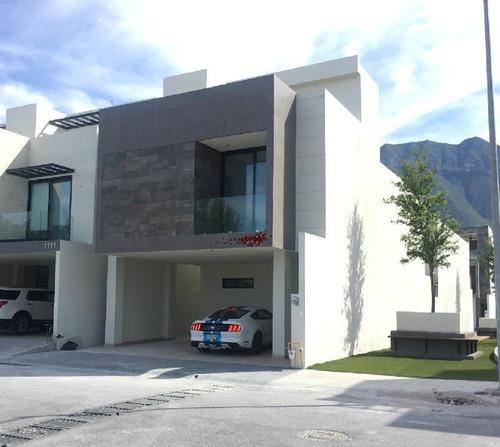 Imagen 1 de 30 de Casa Sola En Venta En Cumbres Platinum, Monterrey, Nuevo León