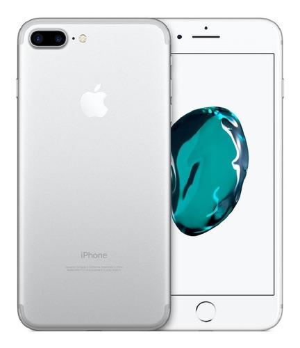 Imagen 1 de 4 de Celular iPhone 7 Plus 32 Gb Silver + Funda + Audifonos