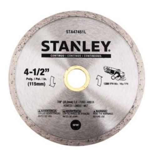 Imagen 1 de 2 de Disco Diamantado Continuo 4,5 / 115mm / 13.300 Rpm Stanley