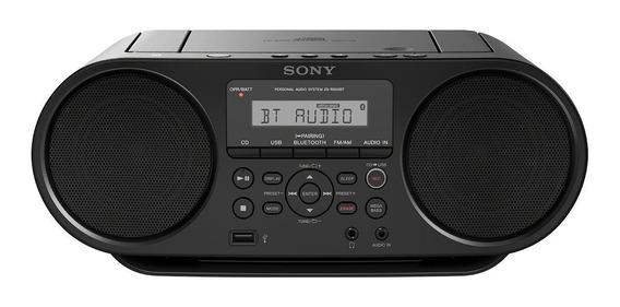 Radio Sony Portátil Con Cd Y Bluetooth Zs-rs60bt