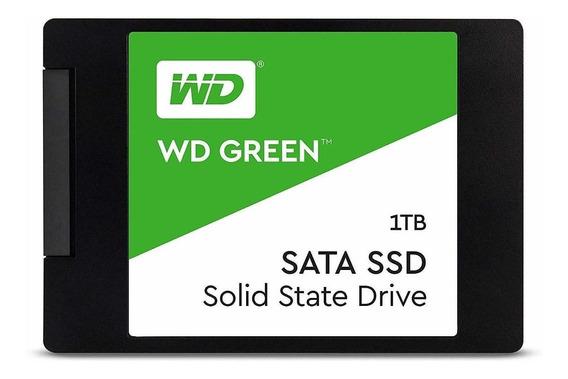 Disco sólido interno Western Digital WD Green WDS100T2G0A 1TB verde