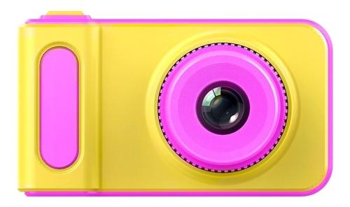 Gadnic CK33 compacta color  amarillo y rosa