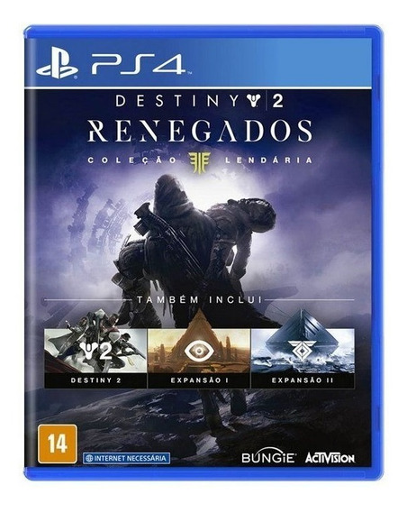 Jogo Destiny 2: Coleção Renegados Para Playstation 4