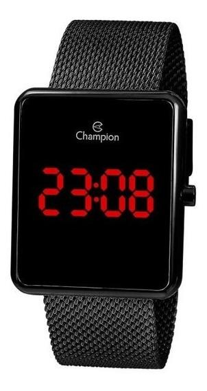 Relógio De Pulso Champion Digital Lançamento Ch40080d N.f Cx