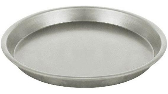 Pizzera De Aluminio Molde Para Pizzeta 2cm Alto X 22cm Diam