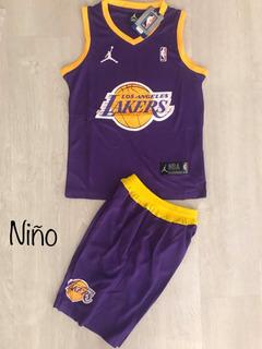 Uniforme Baloncesto Lakers Niño Nba