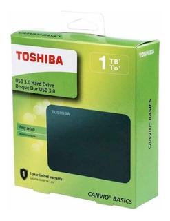 Disco Duro Extraible Toshiba De Un Tera
