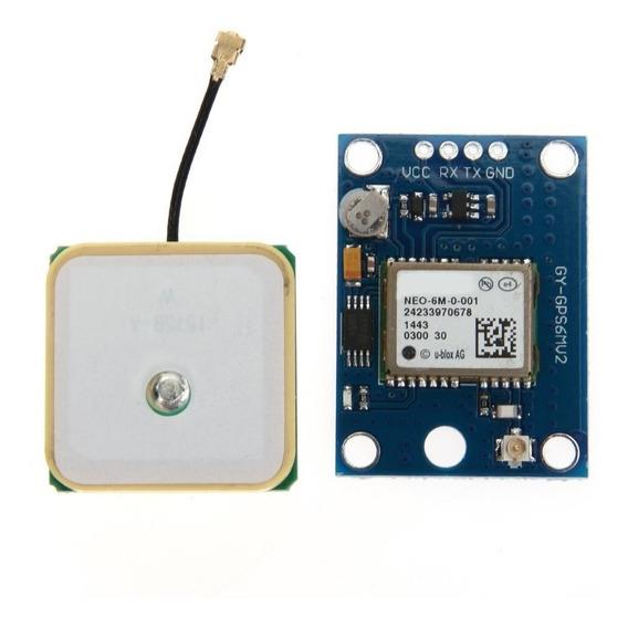 Módulo Gps Ublox Neo-6m Gy-gps6mv2 P/ Drone Arduino