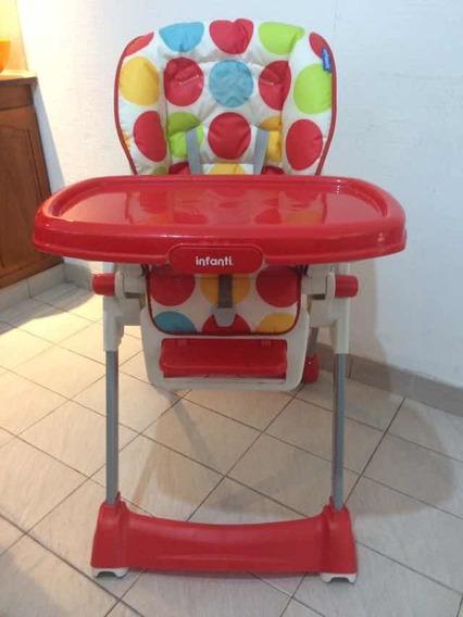 Silla De Comer Bebe Infanti Happy Meal Usada