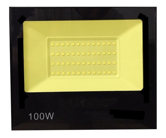 Holofote Refletor Led 100w Smd Bivolt Prova D