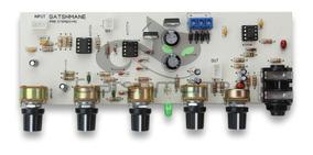 Placa Pre Amplificador Stereo Microfone + Linha + Eq + Fonte