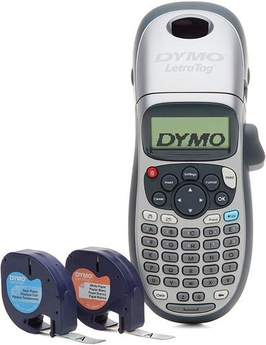 Dymo Letratag Lt-100h Plus Etiquetadora Portatil + 2 Cintas