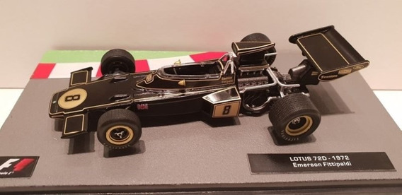 Lotus 720 1972 Emerson Fittipaldi 1/43 F1