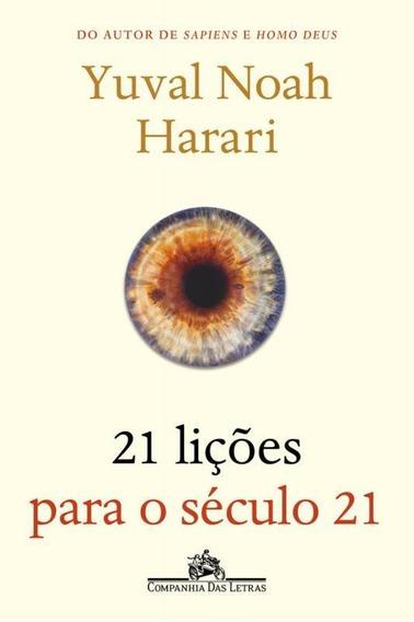 21 Licoes Para O Seculo 21 - Cia Das Letras