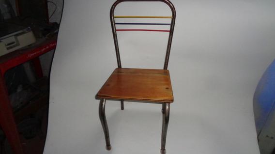 Cadeira Infantil Escolar Antiga