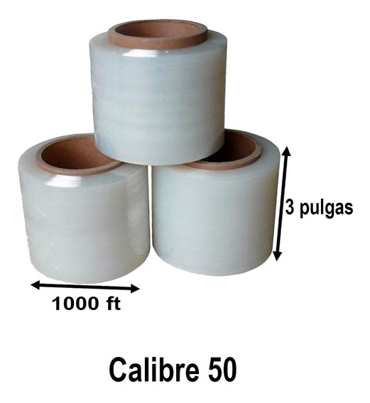 Emplaye , Pelicula De 3 Pulgadas , 305 Metros (10 Rollos)