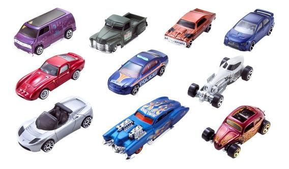 Hot Wheels, Paquete De 10 Autos