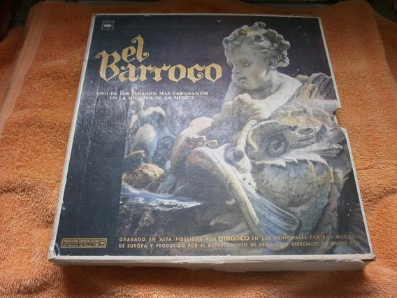 Colección Vinilos El Barroco (10 Discos Con Estuche Y Libro)