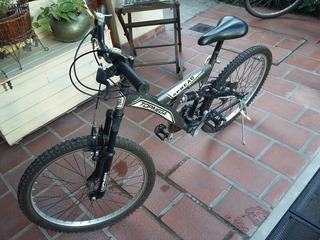 Bicicleta Topmega Doble Suspención Rodado 26