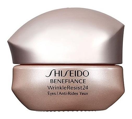 Tratamento Anti-envelhecimento Para Área Dos Olhos Shiseido Benefiance Wrinkleresist24 Eyes 15ml