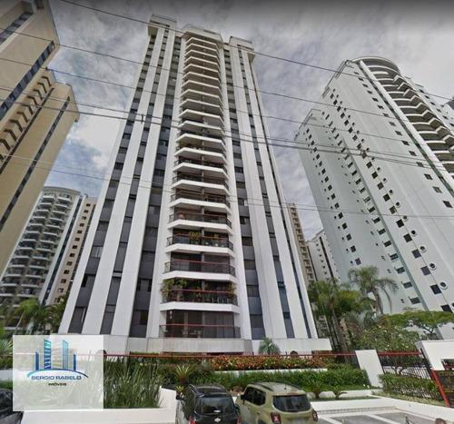 Imagem 1 de 8 de Apartamento Com 3 Dormitórios À Venda, 99 M² Por R$ 1.315.000 - Moema - São Paulo/sp - Ap3553