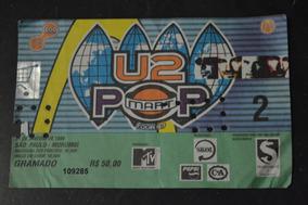 U2 31 Janeiro 1998 São Paulo Ingresso