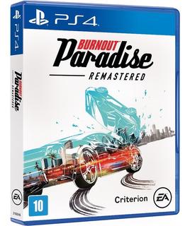 Burnout Paradise Remastered - Ps4 - Novo - Lacrado