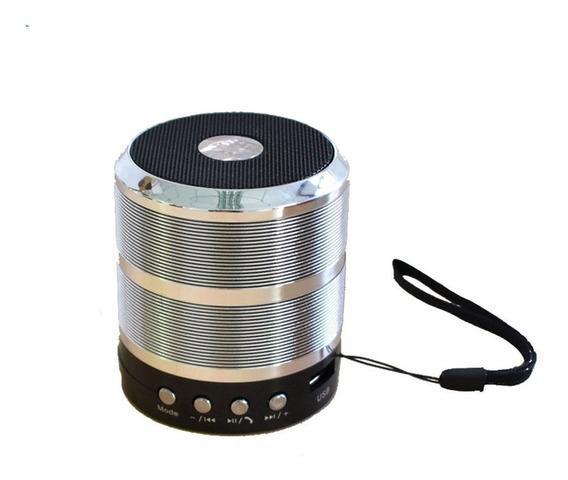 Caixinha De Som Portátil Alto Falante Bluetooth Mp3 Fm Usb