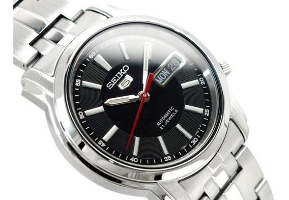 Relógio Seiko 5 Snkl83k1 Automático - Todo Em Aço 38 Mm 7s26