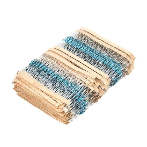 Kit 1200 Resistor 1/4w 1% 30 Val Resistores 40 Cada