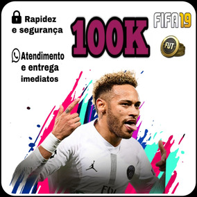 Coins Fifa 19 Ps4 100k Ultimate Team- Envio Imediato