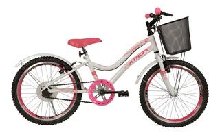 Bicicleta Athor Mist Infantil Aro 20 Feminina Sem Marcha