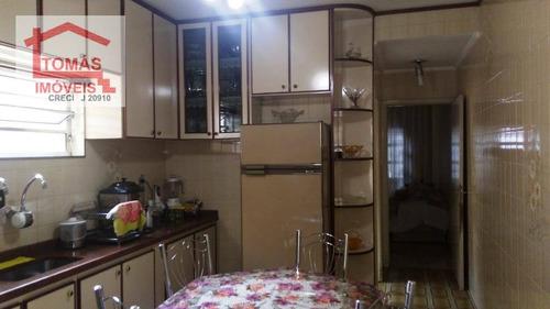 Imagem 1 de 17 de Sobrado Residencial À Venda, Vila Jaguara, São Paulo. - So1673