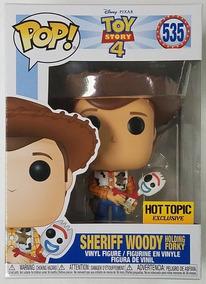 Sheriff Woody Forky - Toy Story - Disney - Funko Pop! #535