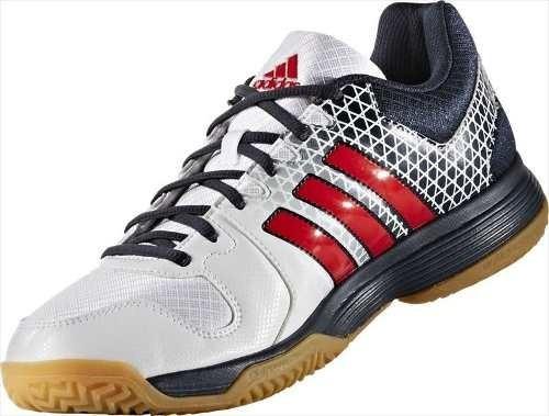 Tênis adidas Ligra I4 Ndoor Futsal Handebol Quadra Branco