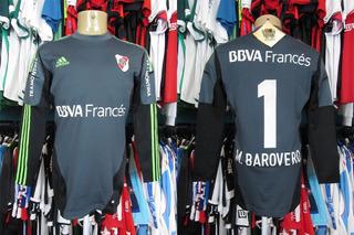 River Plate 2012 Camisa De Goleiro Techfit Tamanho G # 1 Barovero.