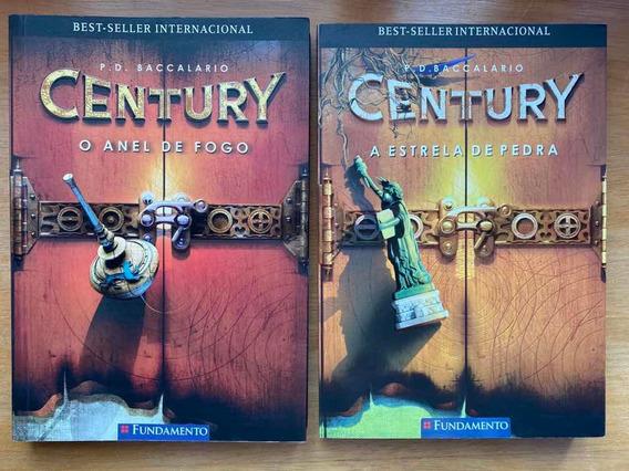 Primeiros 2 Livros Da Série Century Editora Fundamento