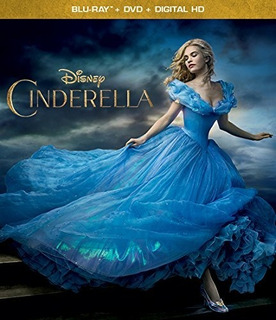 Blu-ray + Dvd Cinderella / La Cenicienta (2015)